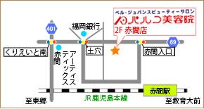 赤間店地図